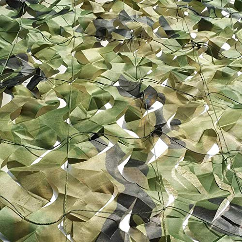 ZHJBD Camouflage Jungle Mode Camouflage Net Oxford Doek Cover Awning Fotografie Vogels Kijken Indoor Decoratie Net Verborgen Multi-size Optioneel (Maat: 4 * 6m)