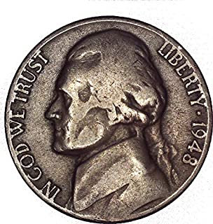 1948 Jefferson Nickel 5C About Uncirculated