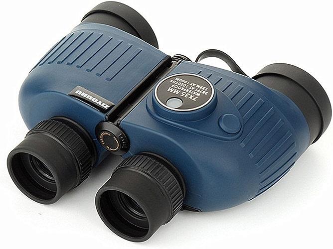 Cotangle Jumelles Jumelles HD 7X35 imperméable à l'eau et Antichoc avec des Lunettes de Vision Nocturne de Boussole pour l'usage extérieur