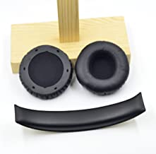 Replacement Ear Pads Headband for Sol Republic Tracks hd V10 V8 headsets (earpads+Headband)