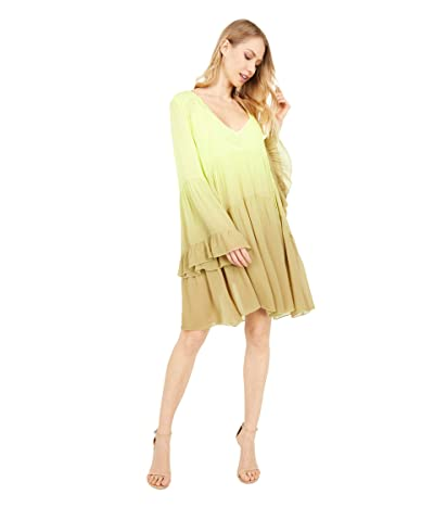 Young Fabulous & Broke Rosa Mini Dress (Soft Neon Ombre) Women