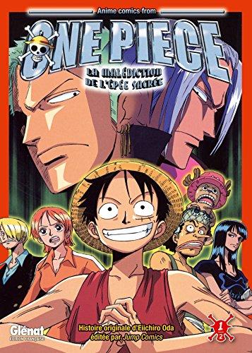 One Piece Anime comics - La malédiction de l'épée sacrée - Tome 01