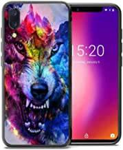 for Umidigi One Pro Case, Umidigi One Case, ABLOOMBOX Shockproof Slim Thin Soft Flexible TPU Silicone Protective Cover for Umidigi One/One Pro Galaxy Wolf