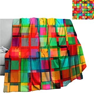 Cranekey Warm Baby Wrapped Crib Blanket Decorative Pattern,Throw Rug Sofa Bedding W60 x L50 Inch