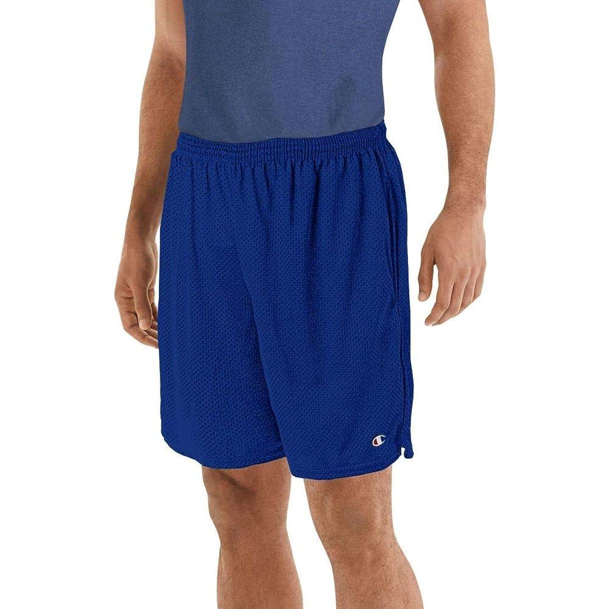 優遇雲船外(チャンピオン) Champion メンズ ボトムス?パンツ ショートパンツ Champion Mesh Shorts [並行輸入品]