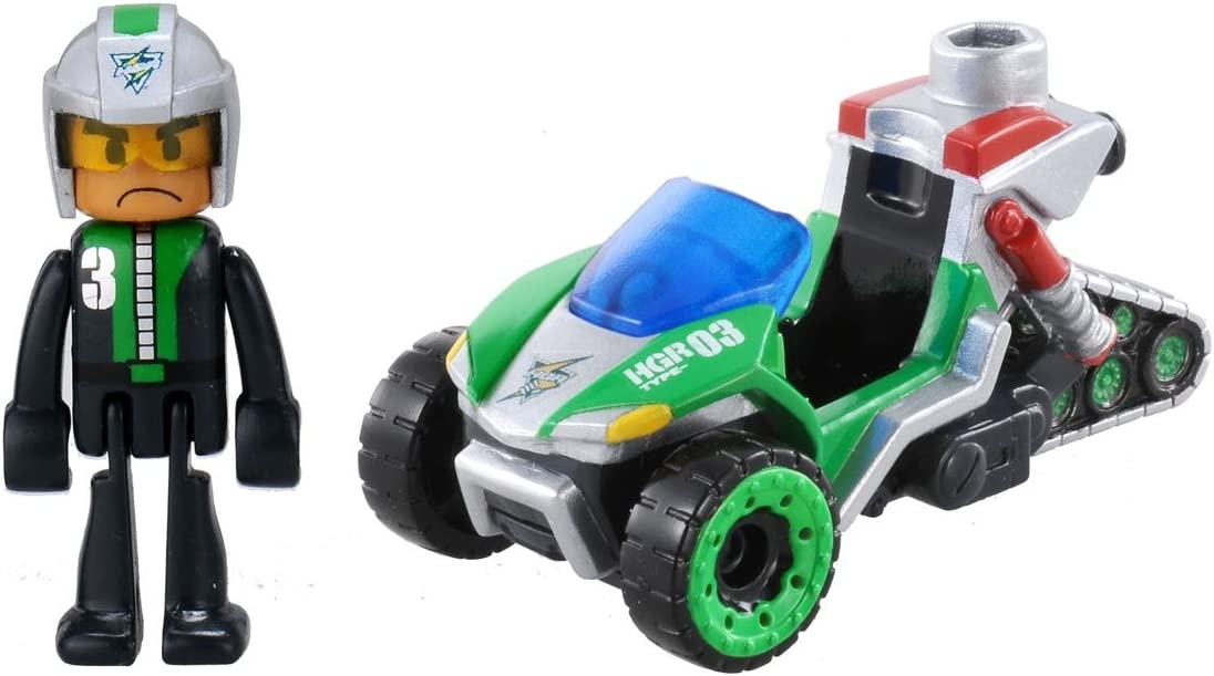 Tomica Hyper Series New product! New type Green Ranger At the price of surprise hammerhead i HGR03 japan
