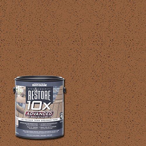 Rust-Oleum 291509 Restore 10X Advanced Resurfacer, Gallon, Timberline
