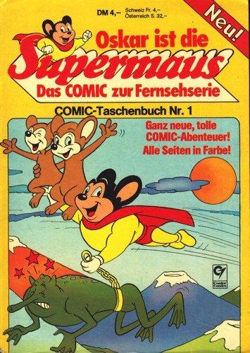 Oskar ist die Supermaus - Comic-Taschenbuch 1