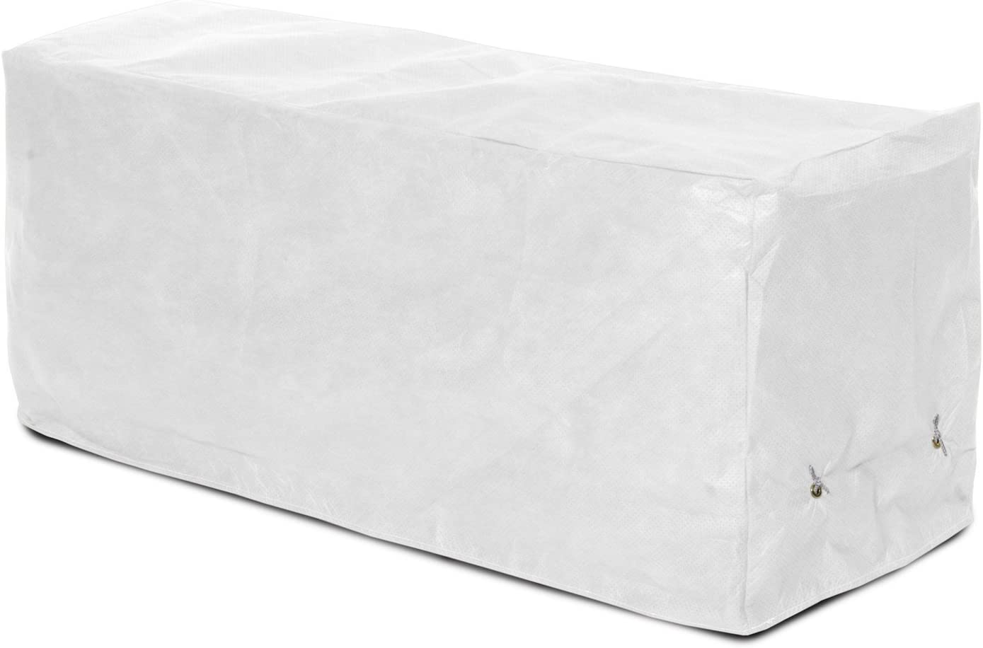 KoverRoos DuPont Tyvek 24212 4-Feet Garden Seat Cover, 51-Inch Width by 28-Inch Diameter by 18-Inch Height, White