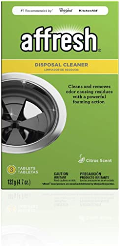 Affresh Garbage Disposal Cleaner, 9 Tablets (3 Packs, 3 Tablets each) | Removes Odor Causing Residues, U.S. EPA Safer...