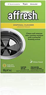 Affresh W10509526M3 3 Pack Garbage Disposal Cleaner | Removes Odor Causing Residues, U.S. EPA Safer Choice Certified, 9 Tablets (3 Packs, 3 Tablets each)
