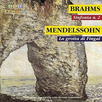 """Brahms: Symphony No. 2 in D Major, Op. 73 - Mendelssohn: Die Hebriden, Op. 26 """"Fingal's Cave"""""""