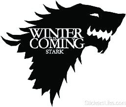 Game of Thrones House Baratheon Stark vinyl Sticker decal HBO Winter is Coming (23