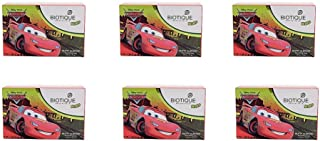Pack of 6 - Biotique Disney Pixar Cars Nutty Almond Nourishing Soap for Kids - 75g