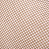 Hans-Textil-Shop Stoff Meterware Karo 3x3 mm Beige