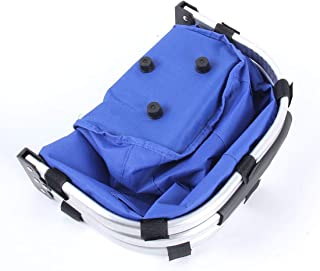 Car Stowing Tidying Large Multifunctional Capacity Folding Portable Vegetable Basket Portable Basket, Suitable for Most Cars