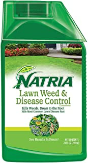 Natria 100532523 Bayer Lawn Weed & Disease Control Concentrate, 24-Ounce, White