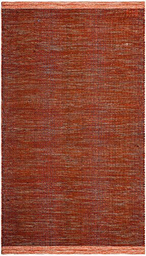 FAB HAB Kingscote - Tapis Abricot en Polyéthylène recyclé (Fibres Polyester) pour intérieur/extérieur (60 cm x 90 cm)