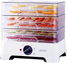 Food Dryer, Automatic Small Food Dryer Fruit and Vegetable Pet Snacks Dried for Kitchen Food Preservation Household White