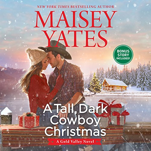 A Tall, Dark Cowboy Christmas audiobook cover art