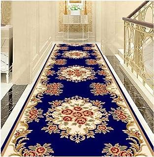 Non-Slip Carpet YANZHEN Hallway Runner Rugs Moisture-Proof Bathroom Slip Front Door Mat Floral Print Colourfast 7mm Thick ...