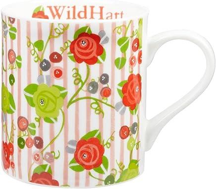 Preisvergleich für Julie Dodsworth Wild Hart Tasse aus feinem Porzellan