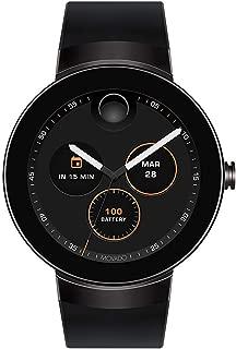 Connect Digital Smart Module Black PVD Smartwatch, Black/Black Strap (Model 3660018)
