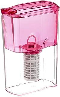 ガイアの水135 ポット型浄水器(カートリッジ付) (ピンク)