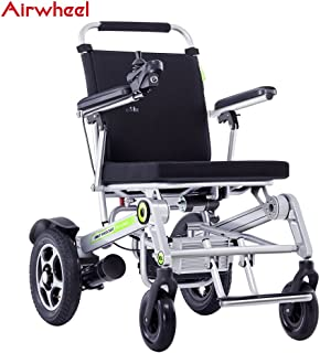 Airwheel H3T Electric Wheelchair - Full Automatic Folding Smart Wheelchair - 30 Miles Range - Weighs just 65 Lbs - Opens & Folds in 2 Seconds
