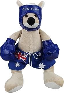 RealAus Souvenirs Boxing Kangaroo Bluey Stuffed Animal 16