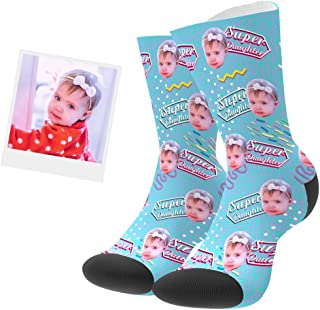 Calcetines Personalizados Foto Calcetín Original Dibujos Estampados Alto Regalo Esperical para Hombre o Mujer