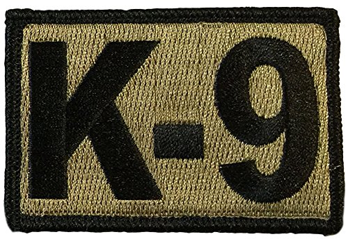 K-9 Tactical Patch 2'x3' - Coyote Tan