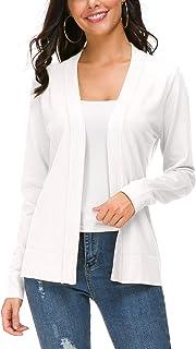 Women's Long Sleeve Open Front Knit Cardigan Sweater