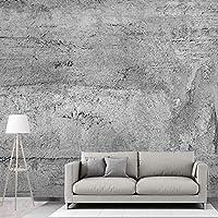 壁の壁画の壁紙3Dレリーフセメント灰色の壁紙家の装飾リビングルーム寝室テレビの背景 250cmx175cm