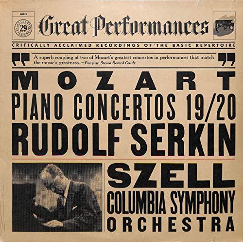Mozart: Piano Concertos 19/20