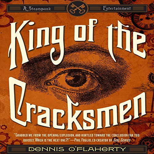 King of the Cracksmen audiobook cover art