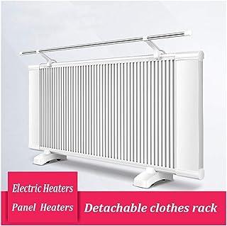 De pared / panel calefactor en posición vertical, 1600w de doble cara de cristal de carbono de calefacción 3 segundos rápido térmica Calefacción, conveniente for el hogar Oficina de convección Calenta