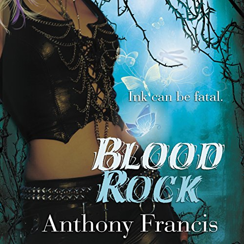 Blood Rock audiobook cover art