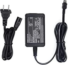 AT LCC AC Power Adapter Charger and US Cable for Sony HandyCam DCR-TRV280 Camcorder
