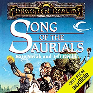Song of the Saurials audiobook cover art