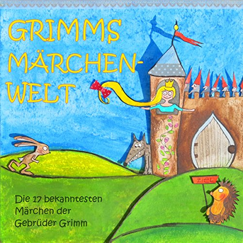 Grimms Märchenwelt audiobook cover art