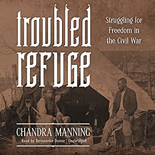 Troubled Refuge audiobook cover art