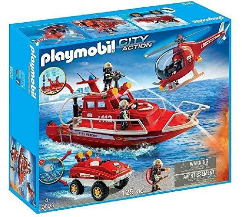 Playmobil - Nouveauté 2018 - Coffret Forces spéciales Pompiers 9503