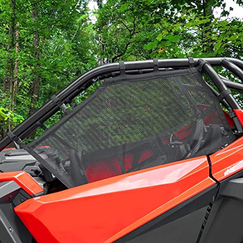 kemimoto RZR Window Nets Roll Cage Mesh Guard Compatible with 2020 2021 2022 Polaris RZR PRO XP for 2 Seater - Set of Two (Left and Right)