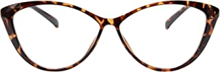 MEDOLONG Anti Blue Ray Computer Reading Glasses TR90 Cateye Women's Frame Blue Light Light Spectacles-RG5865R