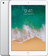 Apple iPad 9.7in with WiFi, 32GB-Silver (2017 Newest Model) (Renewed)