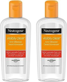 Neutrogena 露得清 洁净洗脸水 抗黑头粉刺 针对瑕疵和黑头 2 × 200 毫升