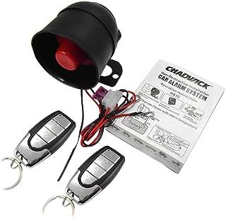 Car Alarm System Remote Door Starter Keyless Entry Lock W/ 2 Remote Control
