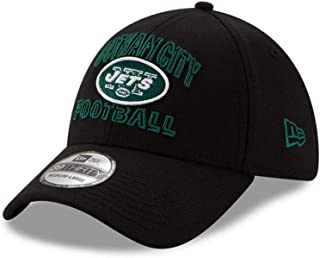 New Era New York Jets NFL 39Thirty Flex Fit Hat Low Profile Curve Brim Cap