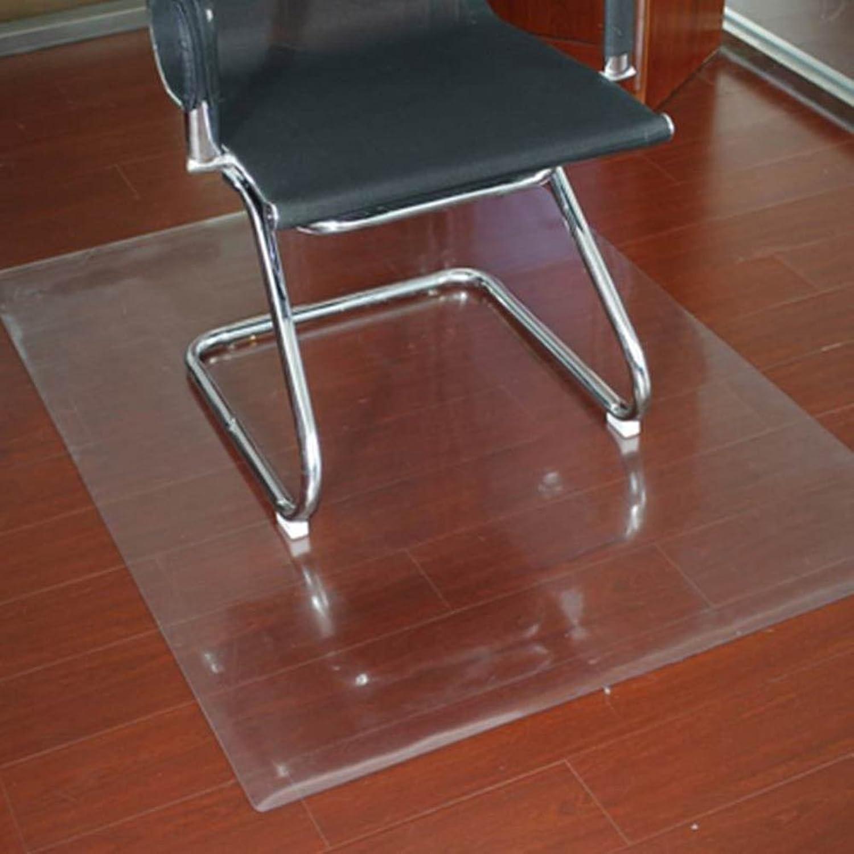 Computer Chair mat Soft Glass Predector mat Computer Chair Predector mat Cushions Book Table and Chair mat-F 90x200cm(35x79inch)